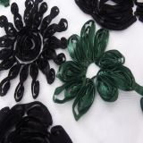 ribbon 3d embroidery lace fabric