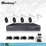 Home Security CCTV System 4CH Full Bullet Waterproof Camera DVR Kit HD 4K 8.0MP 4 Channel Ahd CCTV Set