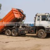 Dongfeng EQ5250G 6x4 hook lift garbage truck cx