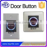 Door access control system smart home security door release exit button switch NO touch button
