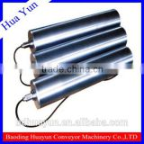 114mm Dia Oil Steeped Crowned Motorized Drum Conveyor Belt Drum Motor