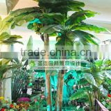 2014 plant tree type large leaf plastic material artificial plants artificial banana plants