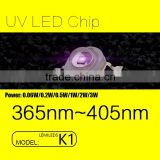 UVLED LUMILEDS K1 package 1w uv led with 365nm wavelength