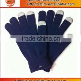 Smartphone knitting Gloves plain simple design Winter Warm high quality glove China Manufacture