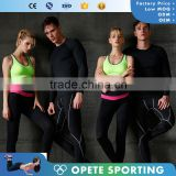(OEM ODM FACTORY) mens gym clothing bodybuilding fitness wear compression wear /rush guard