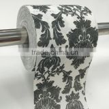 printed custom logo toilet tissue paper factory
