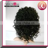 Wholesale cheap short afro kinky lace human hair wigs