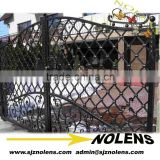 ornamental elegant wrought small iron gate for china/The Huge galvanized farm gates by iron