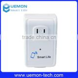Portable wireless smart Wifi plug free APP Wi-Fi home automation smart intelligent power socket for Android and IOS