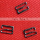 Black plated bra strap hook