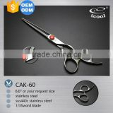 ICOOL CAK-60 beauty sword blade professional hair scissors