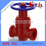 Clamp-connection Wedge Gate Valve