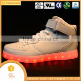 Bright color led flashing running shoes,led lights for shoes for adult from shenzhen factory