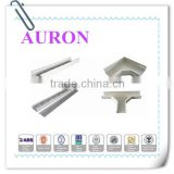 AURON/HEAWELL ABS BV GL DNV ISO ROHS CE Hot dipped galvanized outdoor cable tray/GI cable perforated tray/Steel Cable trough