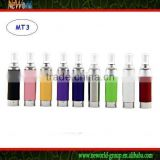 Changeable coil atomizer MT3 atomizer for EVOD,eGo-C,eGoW series huge voper