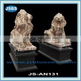hand carved natural stone decorative animal statues