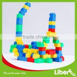 2015 Hot Sell Plastic Blocks, Large Toy Building Blocks Toys, Durable Children Educational Construction Toy