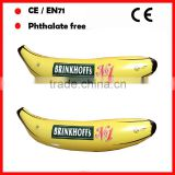 promotional inflatable big banana toys with logo for advertising