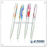 Luxury Design multi color etched metal parker refill ball point pen