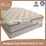 Soft sofa compressed bonnell spring hotel bed mattress/bonnell spring mattress with knitted fabric
