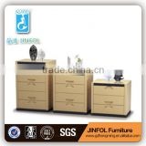Chinese Small Cupboard Side Cabinet Gloss Glass A3 Carbon Steel and MDF High Quality Cabinet