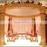India crystal fiber mandap,crystal wedding mandap pillar decoration(MBD-008)                                                                         Quality Choice