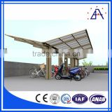 Aluminum Extrusion for Green Roof Garage Carports