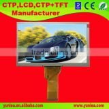 7.0 inch 800(RGB)*480 laptop lcd panel with backlight