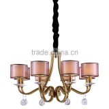 turkish mosaic red crystal chandelier light
