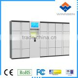 Smart Electronic Storage Laundry Locker , Self Service Delivery Lockers Waterproof Customized