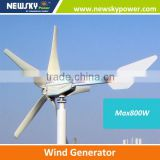 domestic wind generator blades for wind generator rotor and stator for wind generator