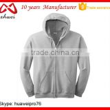 Customize Cheap Casual Sports Wear Hoodies Sweatshirts Plain OEM Zipper Hoodies Clothes Factory China