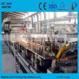 Fluting paper production line cardboard box recycling type for corrugated paper making machine
