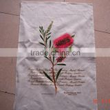 2015 new fashion cotton /linen tea towels for home decoration ,cheap promotional gift in high quality red flower -31