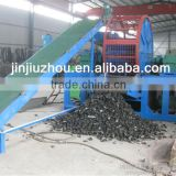 Scrap tyre recycling equipment / used Car Tire Cutting Shredder Machine / waste tire recycling rubber powder machine