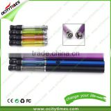 Unique Design button operated disposable vaporizer pen Ocitytimes 510 silicone drip tip custom vaporizer pen