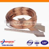 0% Silver Copper Phosphorus Brazing Alloy BCuP-2