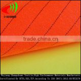 fluorescent polyester cotton fabric hi vis reflective fabric high visibility fabric for coverfalls
