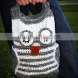 handmade fashion crochet owl bags for ladies and women 2014