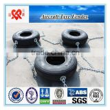 high quality rubber aircraft tyre fender for sale