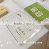 Wholesale acrylic glass block, price display block, leaflet holder