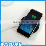 2015 High Quality Qi Wireless Charger For Samsung Galaxy S6 Super Fast Mobile Phone Charger