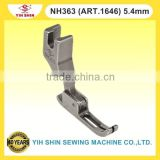 Industrial Sewing Machine Parts NECCHI Machine Single Needle NH363 (ART.1646) 5.4mm Presser Feet
