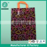 Custom heavy duty printed shopping bag ,plastic handle bag holder in guangzhou