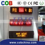 Wireless 3G/4G/WIFI/USB led sign P10 double sides led sign WIFI USB front open led,outdoor