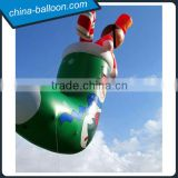 Custom beautiful inflatable stocking giant christmas decoration inflatable christmas stocking