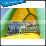 cheap price inflatable bicycle kick arena,inflatable soccer kick field,exciting sports ball game