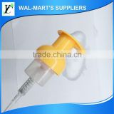 high viscosity pump plastic bottle for cosmetic with foam pump , colourful cosmetic foam pump