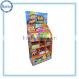 Attractive Cardboard Carton Paper Display Stand for Books