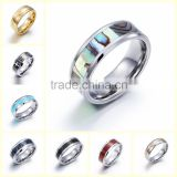 Wholesale High Quality Stainless Steel Rings for Men Silver Plated